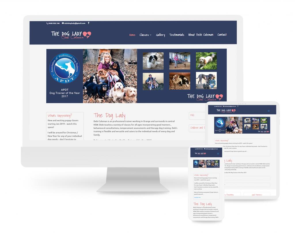 hobart_web_design_SEO_TheCreativeDOJO_thedoglady